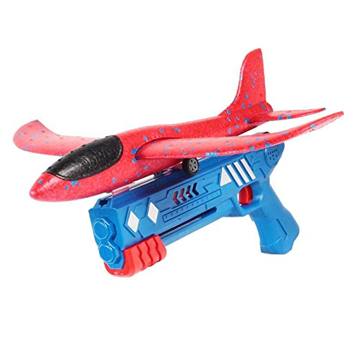 lefeindgdi Flugzeugwerfer-Spielzeug, Schaumstoff-Gleitflugzeug, weicher Schaumstoff-Flugzeug, Modell-Gleiter, Handwurf-Flugzeug, Spielzeug für Kinder