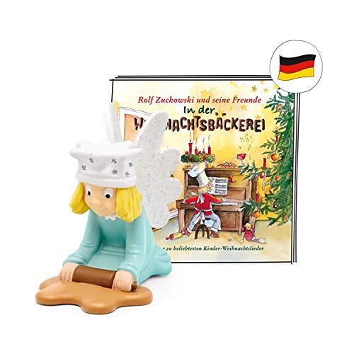tonies Hörfigur für Toniebox, Weihnachtslieder: Rolf Zuckowski – In der Weihnachtsbäckerei, Hörspiel für Kinder ab 3 Jahren, Spielzeit ca. 57 Minuten
