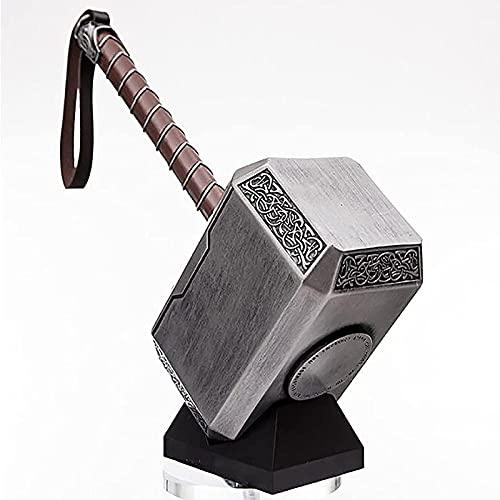 WXHJM 1: 1 Marvel Legends Avengers Thorhammer,Premium-Edition Thor's Hammer,43CM Marvel Comics Replica Mjolnir,Model Props