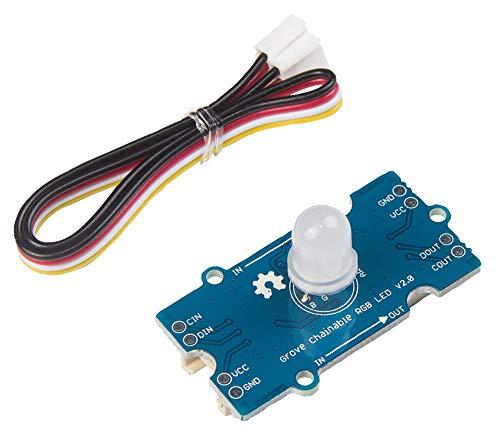 Grove, Chainable RGB LED, V2, Kit Inhalt Modul und Kabel, Produktreihe Grove Module, zur Verwendung mit Grove Modulen, Entwicklungsplatinen und Bewertungs-Kits