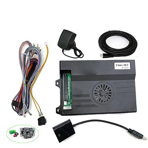 TX GIRL 3D Pandora Saga. Gt Box 5200 In 1 Spielplan WiFi Laden Sie Mehr Arcade Mit 20 Herunter Stift Zum Jamma-Konverter. HDMI Kabelstromversorgung. (Color : B)