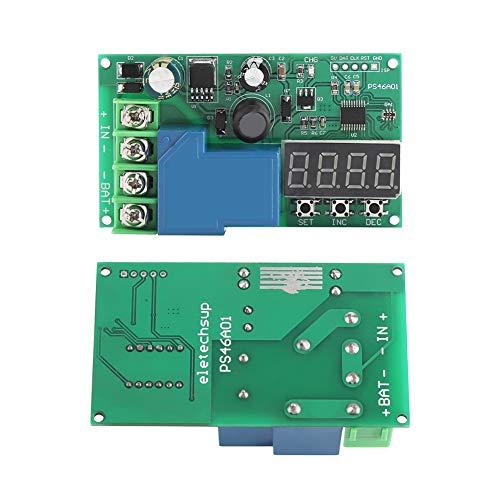 Weikeya Sofortige Schutzplatine, Schutzplatinenhalterung mit Kunststoff Plus elektronischen Bauteilen 8 * 4,5 cm Überspannungsschutz