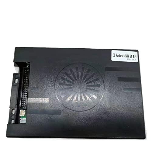 TX GIRL 3D Pandora Saga. Ex Gt. Box 14 4800& 5200& 6800& 8000 In 1 Spielplan WiFi Laden Sie Mehr Arcade Herunter HDMI PCB. Videokonverter (Color : White)