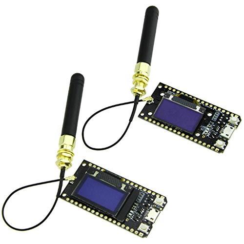 Pineapplen 2 StüCke Von Lora32 868 MHz Sx1276 Esp32 OLED-Display WiFi Lora Entwicklungs Board