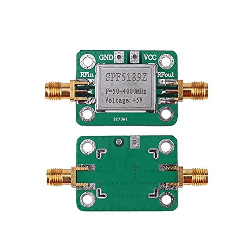 ZRYYD SPF5189 0.6DB Verstärkersignal-Empfänger-LNA 50-4000 MHz RF-Niedrig-Rauschverstärkerplatine für FM HF-VHF/UHF-HAD-Radio Hot