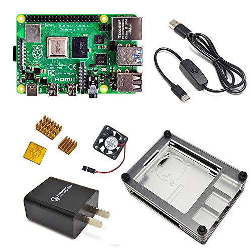 LANDZO Raspberry Pi 4 Completed Max Kit (1G)