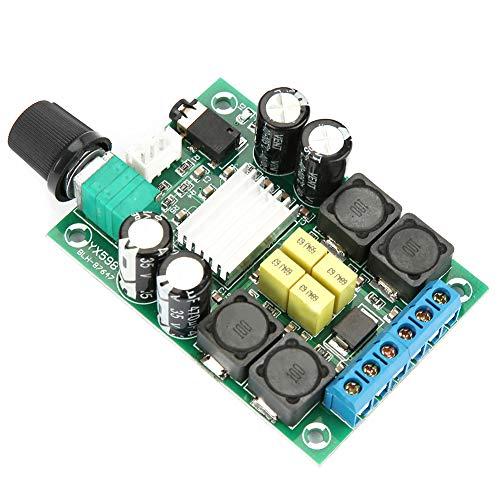 Digitales Audio-Leistungsverstärker-Platine, hergestellt aus elektronischen Komponenten, 62 x 41 mm, 50 W + 50 W, 2-Kanal-Audio-Verstärker-Platine