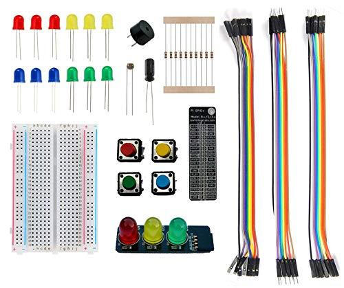Low Voltage Labs - Pi Parts Pack mit Ampel, für Raspberry Pi GPIO