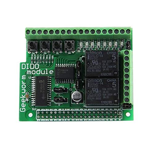 RLJJCS1163 Modul Digitaleingang Digital Output BOAD Kompatibel mit PIFACE DIGITAL 2 for RPI