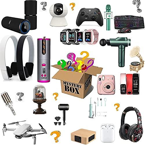 SSYUDLH Lucky Box Elektronisches Produkt Blind Box Mystery Game Zufälliger Produktversand Handy Smart Watch Unbemanntes Flugzeug Geburtstagsgeschenk Alles Ist Möglich