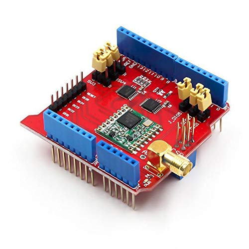 Zytang 433/868 / 915MHz Lora Shield IOT Langstrecken Wireless Lora Shield für Dragino Arduino Leonardo UNO Mega 2560 Duemilanove (Color : 433Mhz)