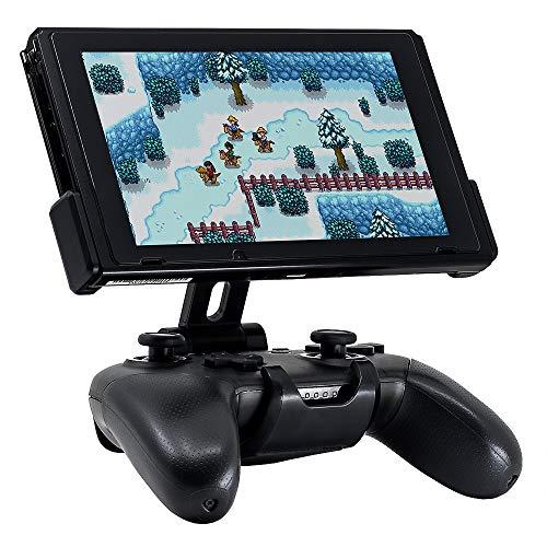 Fixture S1: Premium Pro Controller Clip Halterung für Nintendo Switch (Grau)