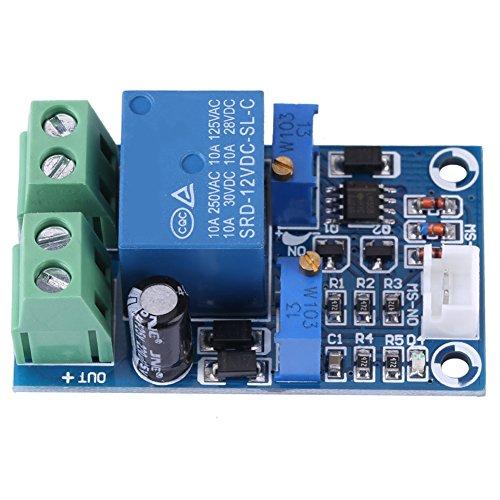 Unterspannungsschutzplatine-12V Batterie Niederspannung Abschalten Automatisches Einschalten Wiederherstellungsschutzmodul
