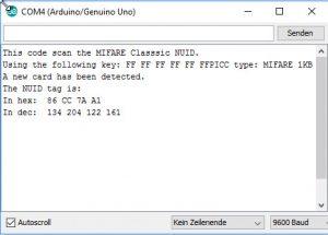RFID Tag NUID