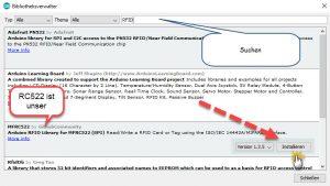 RFID Bibliothek einbinden (2)